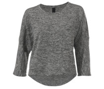 Oversized-Shirt grau