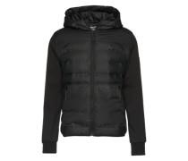 Jacke aus Softshell 'Toner' schwarz