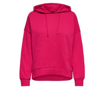 Einfarbiger Sweatshirt eosin