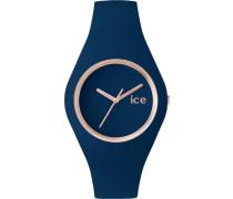 ice-watch Quarzuhr »Ice glam forest - Twilight Ice.gl.twl.u.s.14« blau / gold