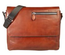 Messenger Bag 'Domus' aus Leder cognac