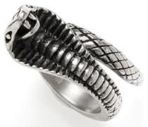 Fingerring »Kobra 1098« grau