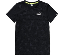 T-Shirt für Jungen schwarz