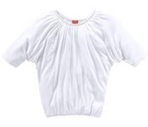 Shirt mit Fledermausärmeln weiß