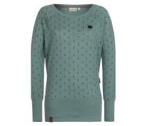 Pullover 'Hodenschmerzen II' grün