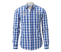 Hemd Aldo blau