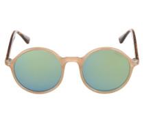 Sonnenbrille 'Madison' beige / braun