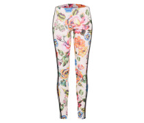 Leggings 'floralita Tight' mischfarben / weiß
