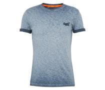 Shirt 'orange Label LOW Roller Tee' navy
