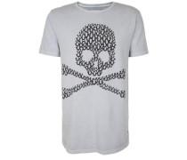 T-Shirt Crew Skull grau