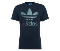 T-Shirt 'trefoil 1' dunkelblau