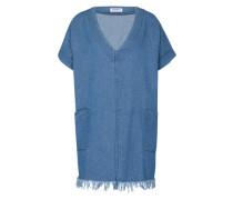 Oversize Kleid 'ck3664' blau