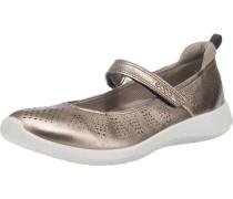 Soft 5 Ballerinas bronze / weiß