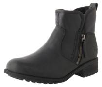 Boots mit Zipper 'Lavelle' schwarz