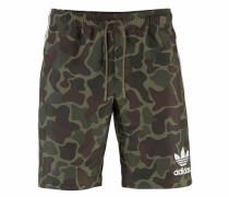 Shorts »Camo BS« grün