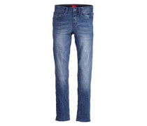 Skinny Seattle: Superstretch-Jeans blue denim