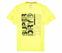 T-Shirt 'core Training Graphic Tee' gelb