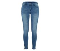 'Vicommit Lux' Slimfit-Jeans blue denim