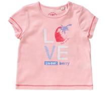 Baby T-Shirt für Mädchen hellblau / pink / rosa / weiß