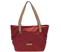 Sonja Shopper Tasche 38 cm rubinrot