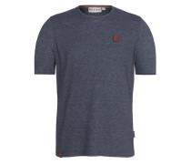 Male T-Shirt Italienischer Hengst V blau
