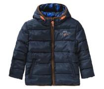 Winterjacke für Jungen navy / orange