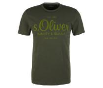 T-Shirt dunkelgrün / grasgrün
