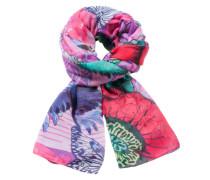 Schal 'foulardrectangle Boho Mix' lila