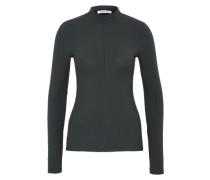 Langarm-Shirt 'Selina' dunkelgrün