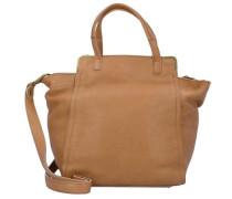 'Twenty' Handtasche Leder 28 cm sand