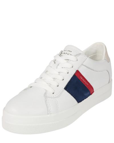 Sneaker 'Aurora' dunkelblau / rot / weiß