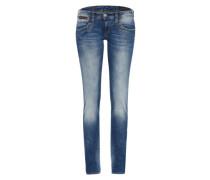 'Piper Slim Denim Comfort' Verwaschene Jeans blue denim