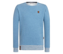 Sweatshirt 'Geschichtenerzähler' blau
