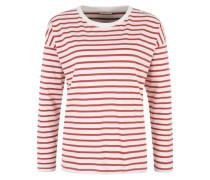 Streifen-Shirt rot / weiß