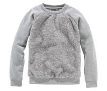 Sweatshirt für Mädchen grau