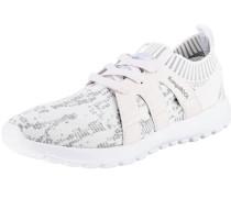 K-Sock Sneakers grau / weiß