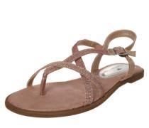 Sandale 'Glitter' rosé