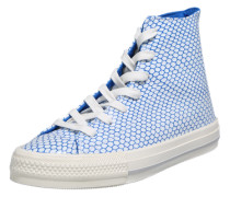 Hohe Sneaker 'Gemma' blau / weiß