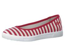 Ballerinas rot / weiß