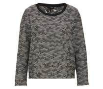 Sweatshirt 'monte' schwarz / weiß