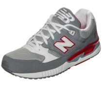 Sneaker 'm530-Cvb-D' grau / rot / weiß