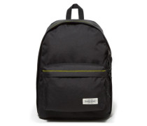 'Out of Office Rucksack' 44 cm mit Laptopfach schwarz