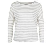 Jerseyshirt 'Santiago' beige / weiß