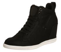 Wedge-Sneaker 'Labour' schwarz