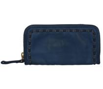Ginepro Geldbörse Leder 21 cm blau