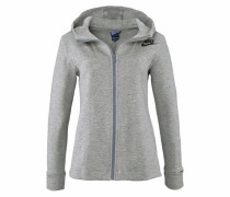 Kapuzensweatjacke »Nsw Av15 Fleece Cape« grau