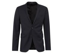 Sakko 'harrie 4BZ Blazer' in schmaler Passform schwarz