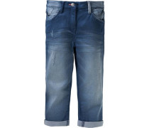 Dreiviertel-Jeans Reg-Size blue denim
