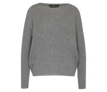 Pullover mit Kaschmir grau
