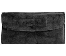 Heide Vintage Geldbörse 19 cm schwarz